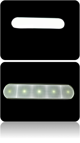 車両照明の軽量化といった視点でもユニブライトは有効