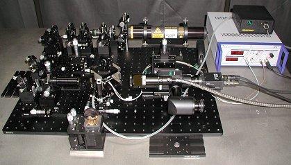 透過波面収差測定検査装置例 1