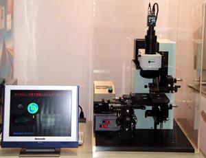 透過波面収差測定検査装置例 2