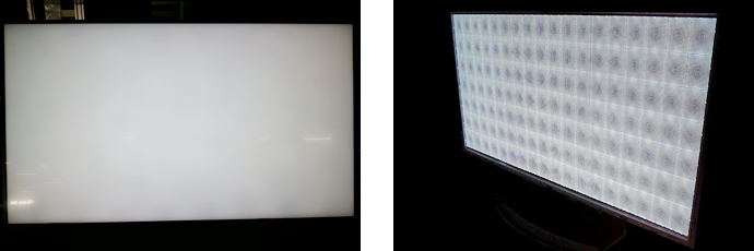 TVバックライト・ディスプレイ例